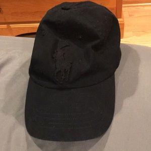 All black True religion Hat